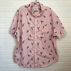 Goodfellow & Co Button Down Sz XXL Parrot Cotton